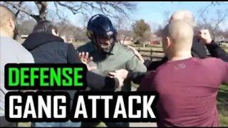 Gang attack defense