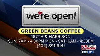 We're Open Omaha: Green Beans Coffee