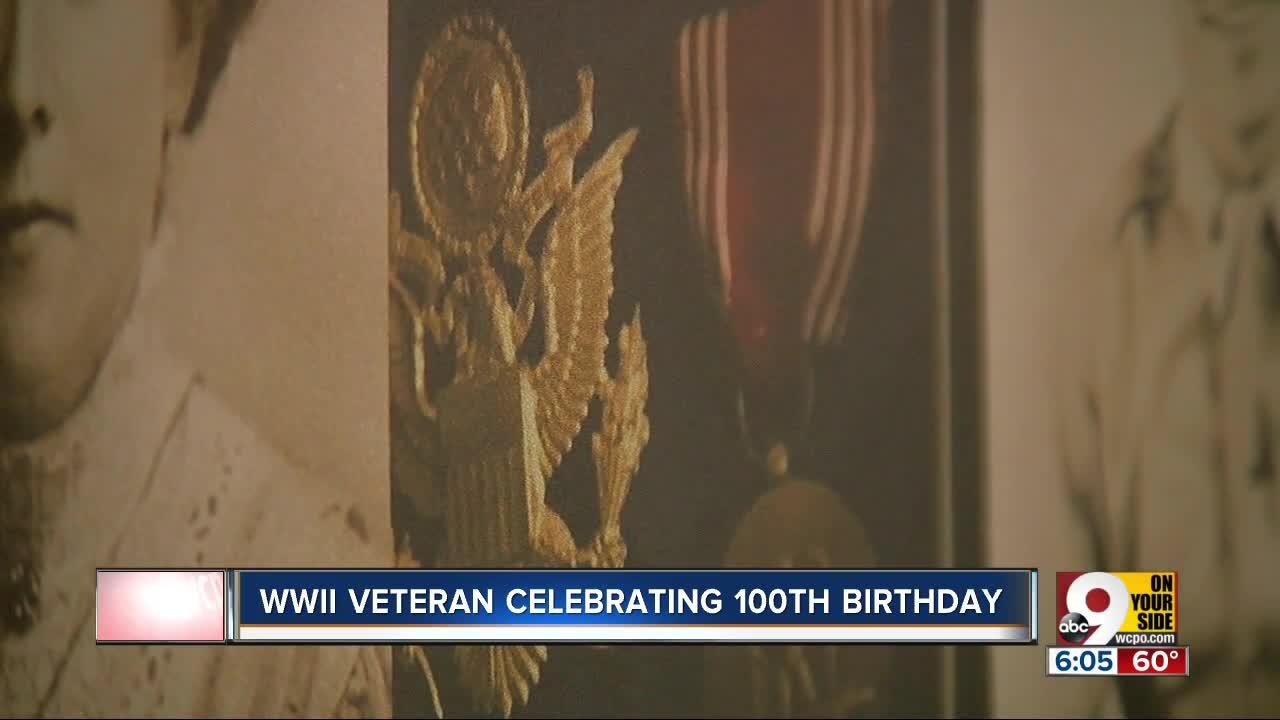Local WWII veteran celebrates 100th birthday