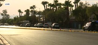 LVMPD officers involved in shooting death of a man with gun