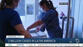 2 million COVID-19 cases in Latin America