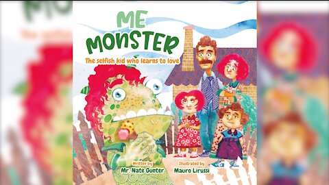 #6 Children's Book - Me Monster: The selfish boy who learns to love