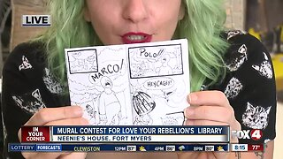 Making Zine's with Love Your Rebellion for new library