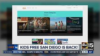 Kids Free San Diego is back!