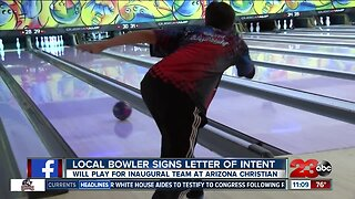 Local bowler signs letter of intent