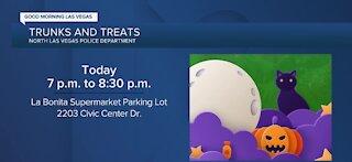 North Las Vegas police host 'Trunks and Treats' Wednesday night