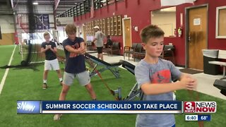 Summer soccer scheduled to take place