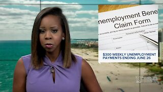 Florida ending $300 supplemental payments from federal government for unemployed workers