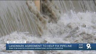 $38M investment to help repair international pipeline