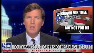 Tucker Carlson on Democrat hypocrisy: Lockdowns for thee but not for me