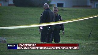 Deadly shooting outside Oakwood Senior Living Center in Eastpointe