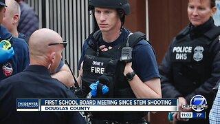 First school board meeting since STEM shooting