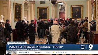 Congressman recounts capitol right