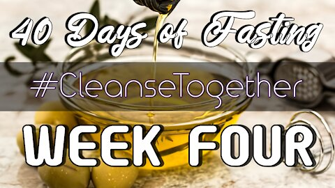 40 Days of Fasting - Whole30 Food Vlog - Week 4