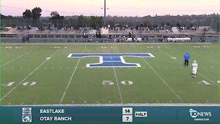2 PREP FOOTBALL LIVE STREAM: Eastlake vs Otay Ranch