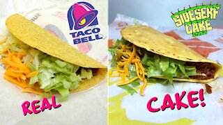 How to make a realistic looking Taco Bell cake