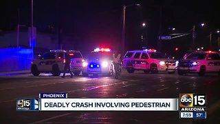 60-year-old pedestrian struck, killed