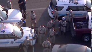 I-17, Loop 101 pursuit suspect taken into custody