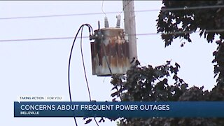 Concerns about frequent power outages in Belleville