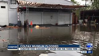 Future of Colfax Museum in jeopardy after flash flooding