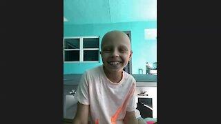 Tiger Woods meets with Jupiter girl battling cancer