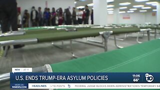 U.S. ends Trump-era asylum policies