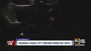 Valley woman says fake Lyft driver knew her personal info