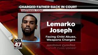 Joseph back in court