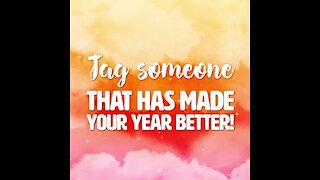 Someone who made your year better [GMG Originals]