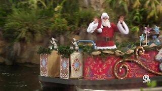 It's snow joke! Disney World unwraps Christmas