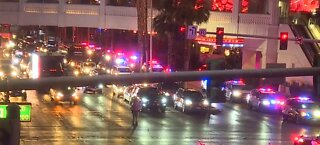 Protesters take over Las Vegas Strip