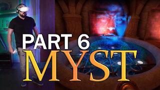 Oculus Quest 2 - Beginner tries Myst VR - Part 6 - (SPOILERS)
