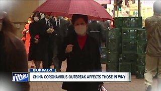 China coronavirus outbreak affects those in Western New York