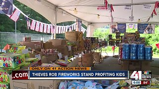 KCK fireworks stand benefiting youth robbed overnight