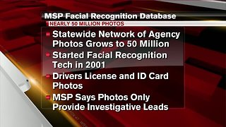 Report: Michigan State Police facial image database grows
