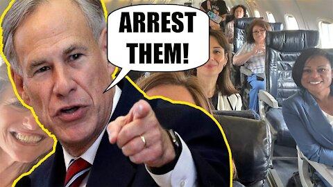 Greg Abbott says Democrats who FLED the State over Election Integrity Bill will be ARRESTED!