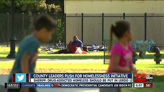 County leaders push for homelessness initiative