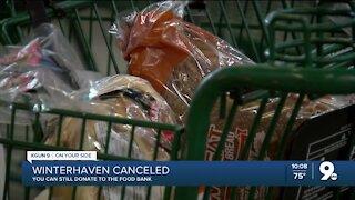 Food donations still needed despite Winterhaven cancelation