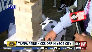 Tampa's Pride Parade returns to Ybor City this weekend
