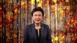 Bakersfield Mayor Karen Goh wishes everyone a Happy Thanksgiving