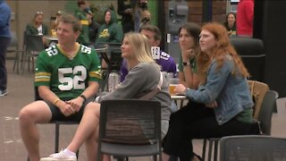 Packers Fans Enjoy First Game