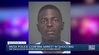 Mesa police confirm arrest in deadly drive-by shooting