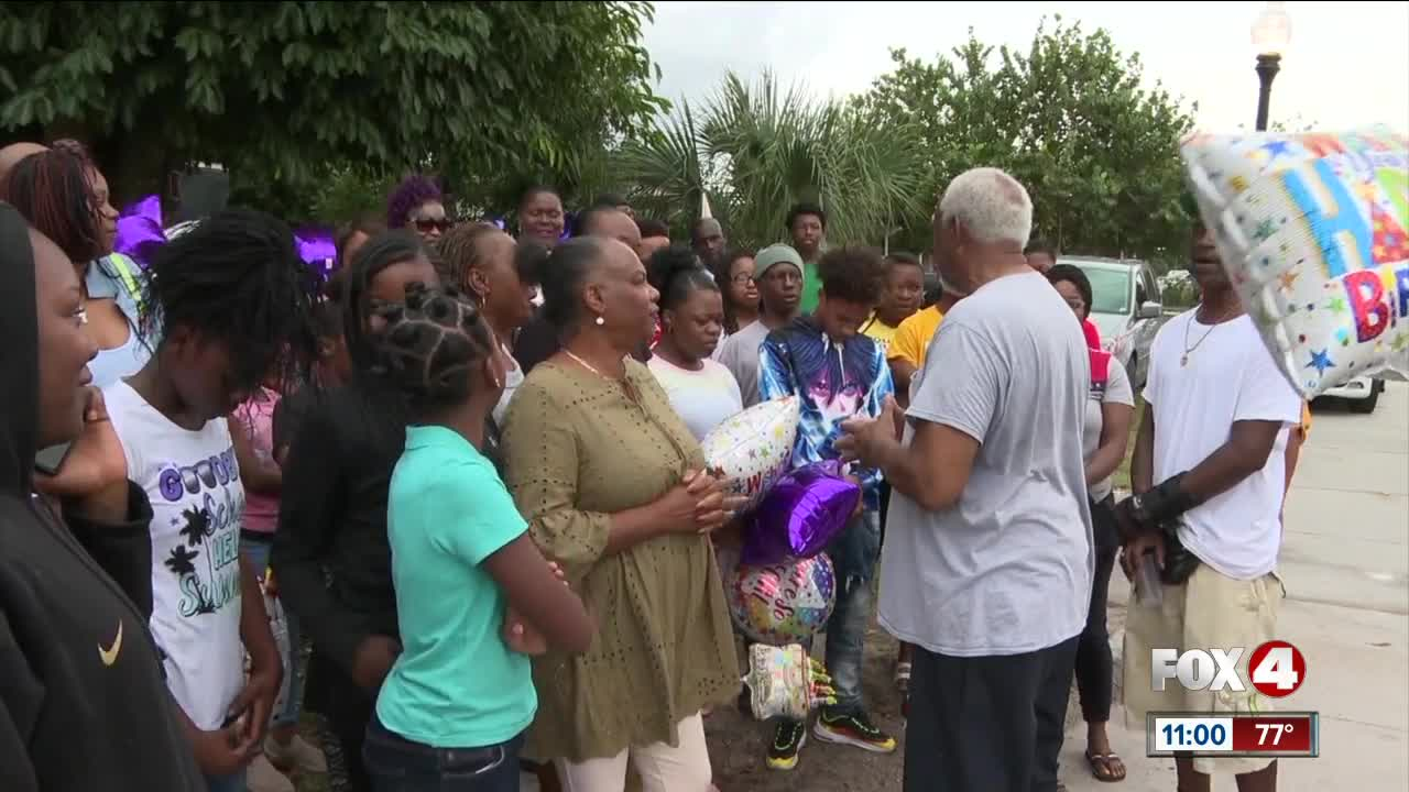 Family celebrates birthday of man killed in Fort Myers drive-by shooting