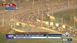 Deadly crash closes I-95 in Broward County