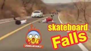 The best of the worst skateboard falls.
