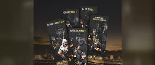 Collectible Vegas Golden Knights bookmarks