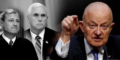 John Roberts, Pence y otros CONSPIRARON para DESTITUIR a Trump, revela ex director de inteligencia