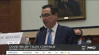COVID relief talks continue in Congress