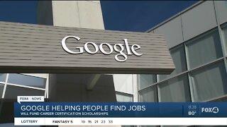 Google helps people find jobs