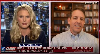 The Real Story - OANN Audit Coverage with Mark Meckler
